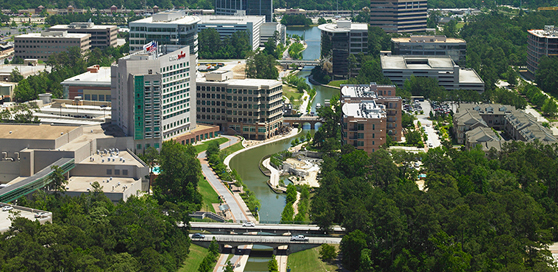Commercial real estate growing in The Woodlands