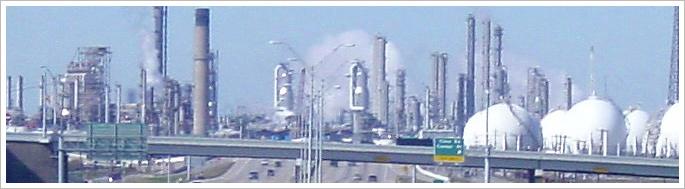 Shell Deer Park Refinery in Deer Park, TX